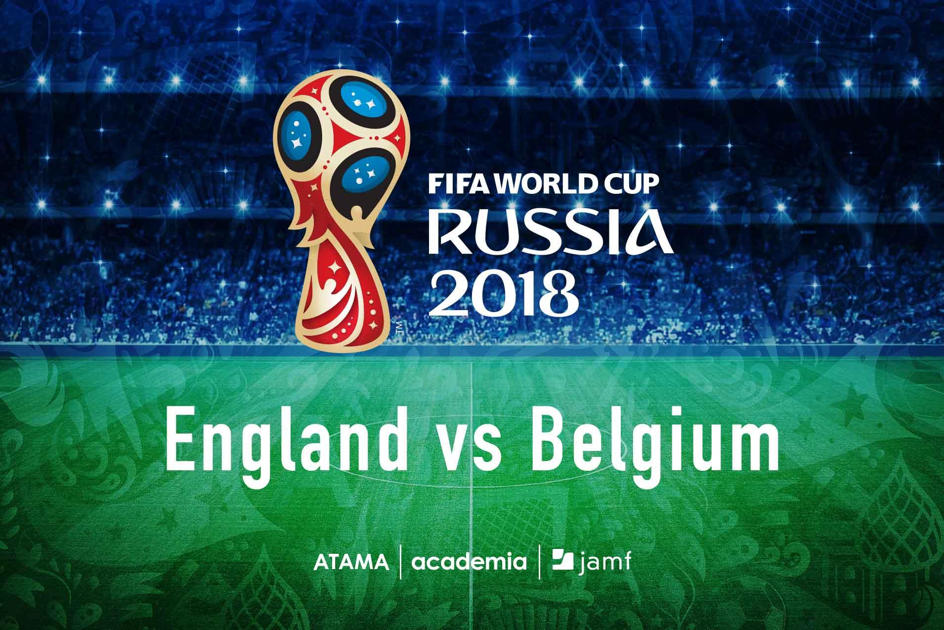England vs Belgium event